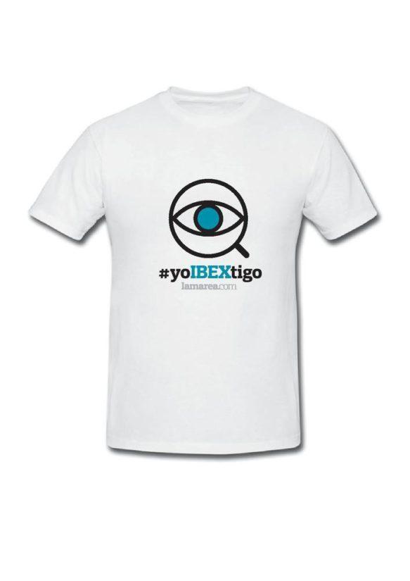 Camiseta #yoIBEXtigo (blanca)