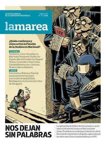 Especial libertad de expresión (revista La Marea)