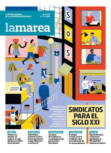 Sindicatos siglo XXI - La Marea 49 (mayo 2017)